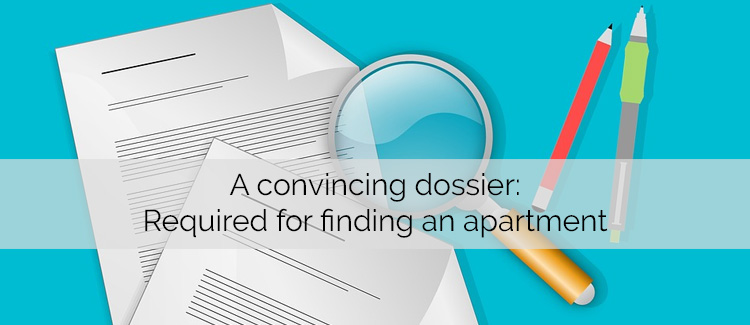 Your dossier - Important for applying for a flat